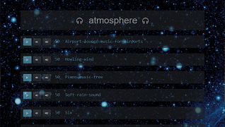 Atmosphere SPA Screenshot