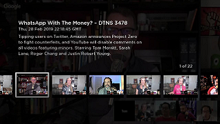 DTNS for Roku Channel Screenshot - Episode Screen